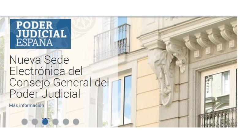 poder judicial, CGPJ, web, fachada, Supremo, programapublicidad