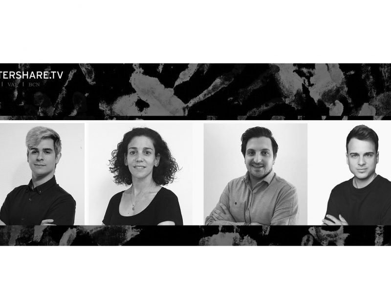 AFTERSHARE. Guillermo Gamboa, Sara Solbes, Carlos Iranzo , Xabier Llorens, programapublicidad