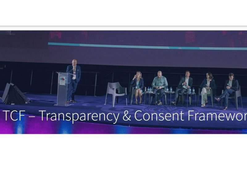 Transparency & Consent Framework, TCF, IAB Europe, programapublicidad