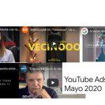 Los anuncios más vistos en YouTube, en mayo,  «Quédate en casa», «Vecinooo», A Todos…, Estrella Galicia y BBVA