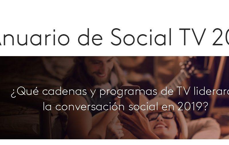 anuario, social tv, kantar, programapublicidad