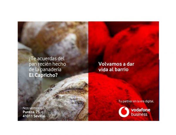 campaña , Ymedia , Vodafone,pan , recien, hecho, programapublicidad