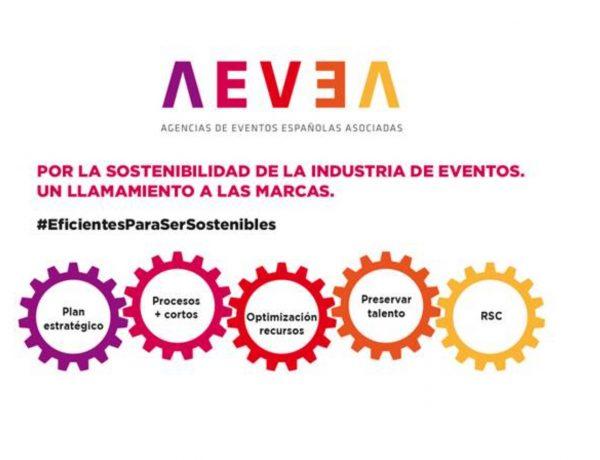 campaña, aevea, sostenibilidad, industria, eventos, programapublicidad