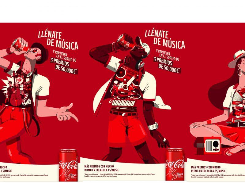 coca-cola,llenate, musica, verano, programapublicidad