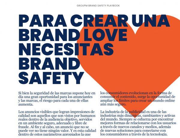 crear,brandsafety, anunciantes, groupm, programapublicidad