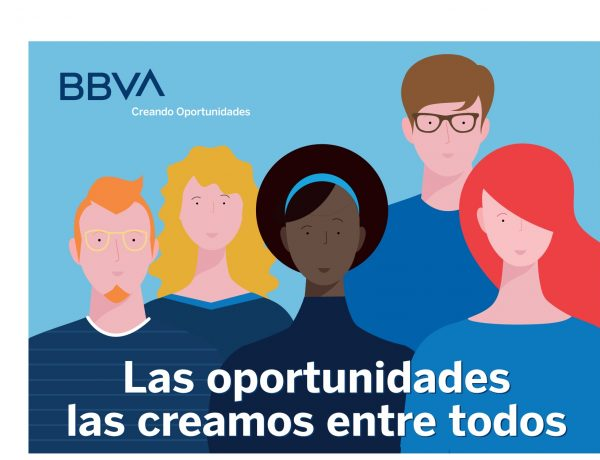 ddb, bbva, BBVA ,oportunidades , creamos , entre todos, flavio, programapublicidad
