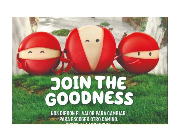 join , the goodness, babybel, queso, 100%, programapublicidad