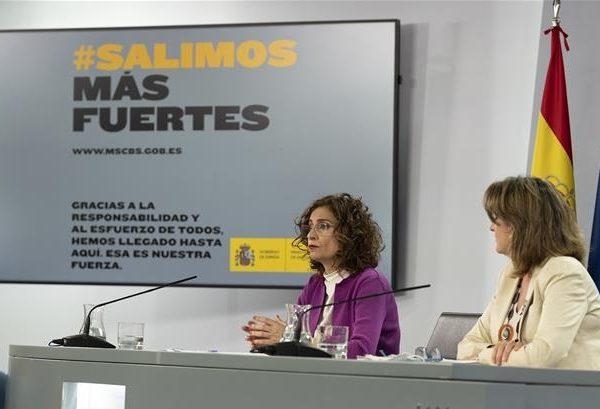ministra , Hacienda , portavoz , Gobierno, María Jesús Montero, vicepresidenta cuarta, programapublicidad