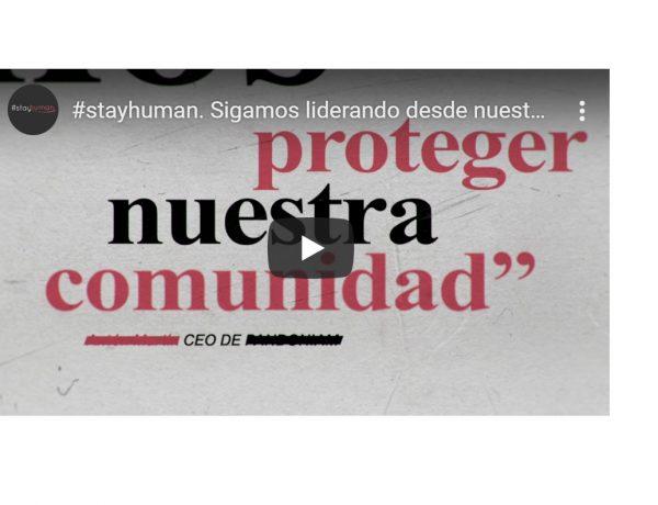 proteger, entrega , spot, #stayhuman, segarra, webinar, cesar hernandez, mahou, cristina Santamarina, alex pallete, adriana dominguez, programapublicidad