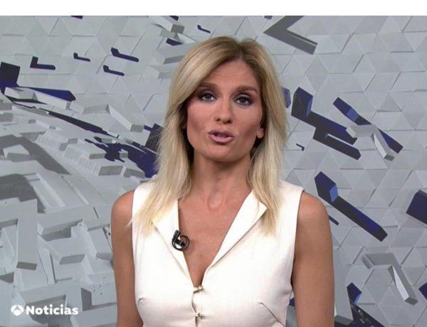 sandra palo, anrtena 3, Noticias 1, 16 junio, programapublicidad