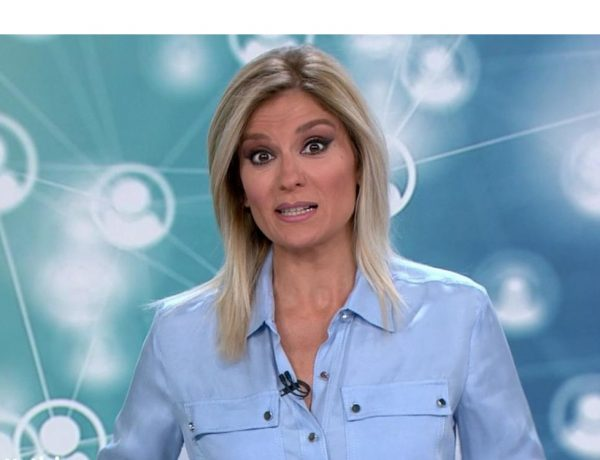 sandra palo, anrtena 3, Noticias 1, viernes 12 junio, programapublicidad