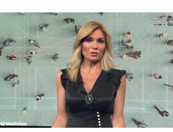 sandra palo, antena 3, noticias 1, 2 junio, 2020, programapublicidad