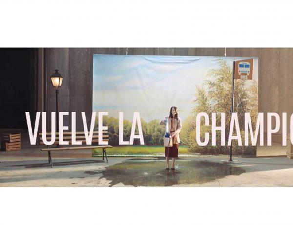 vuelve, champions, ronaldo, telon, santander, rotulo, programapublicidad