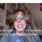 Marta Gutiérrez, SVP de Ogilvy España sobre Teletrabajo:»Se pierde química».