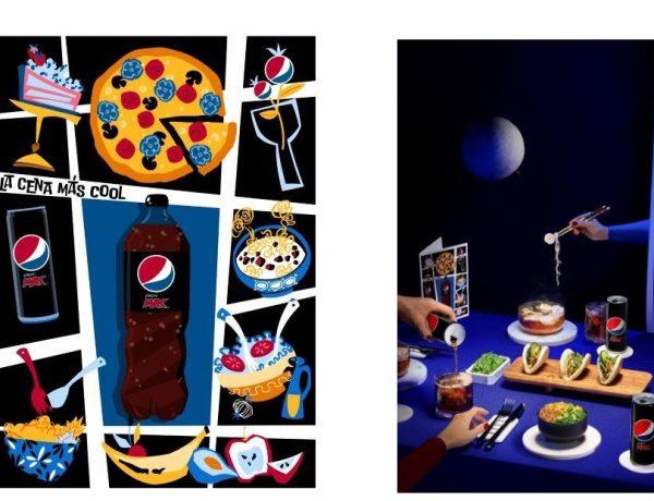 Pepsi MAX, presenta , cuatro ,piezas 'arty' ,comida , más instagrameables, programapublicidad
