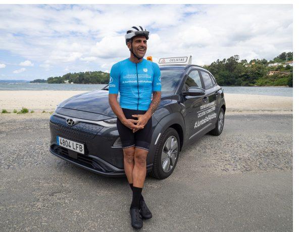 Seguridad Vial, coche de apoyo , ciclistas , conductores , Hyundai, #JuntosEnElAsfalto, programapublicidad