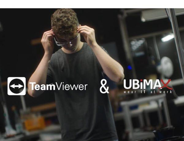 TeamViewer ,gafas, ar, wearables, Ubimax, programapublicidad