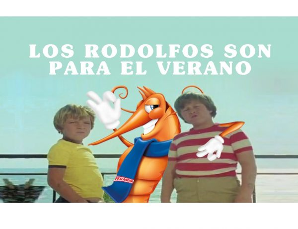 Tito , Piraña, serie , Verano Azul, campaña veraniega , langostinos , Rodolfos, programapublicidad