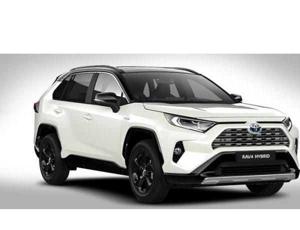Toyota RAV4, Electric , Hybrid, app, Realidad aumentada, programapublicidad