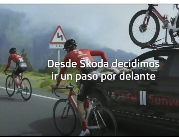 alexa, voice, skoda, distancia, ciclistas, cycling, programapublicidad