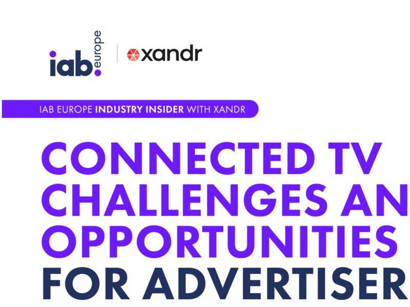 connectec tv, iab, xandr, europe, advertisers, programapublicidad