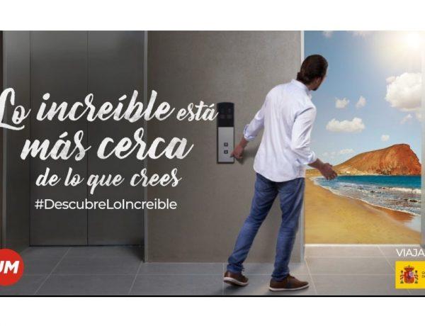 """lo increible, turismo,ministerio, Lo increíble ,cerca , de lo que crees"""", campaña , UM , invita , viajar , España, programapublicidad"""