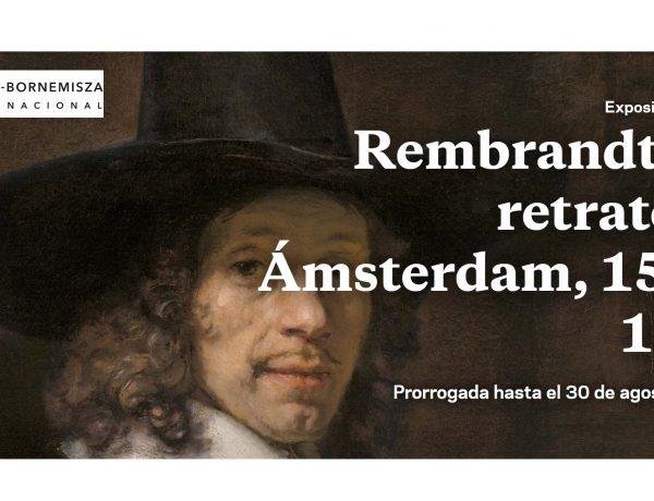 museothyssen, rembrandt, programapublicidad