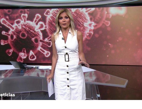 sandra golpe, anrtena 3, Noticias 1, 7 julio, programapublicidad