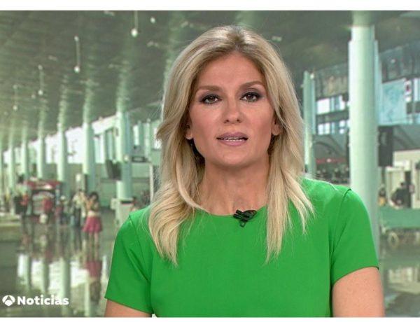 sandra golpe, antena 3, Noticias 1, 15 julio, programapublicidad