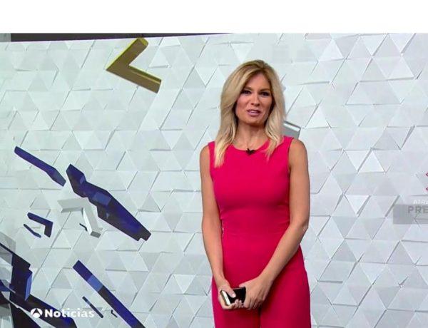 sandra golpe, antena 3, Noticias 1, 20 julio, programapublicidad