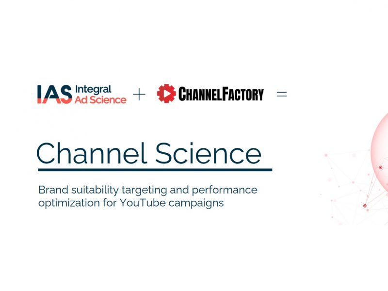 Channel Science,Channel Factory, IAS, programapublicidad