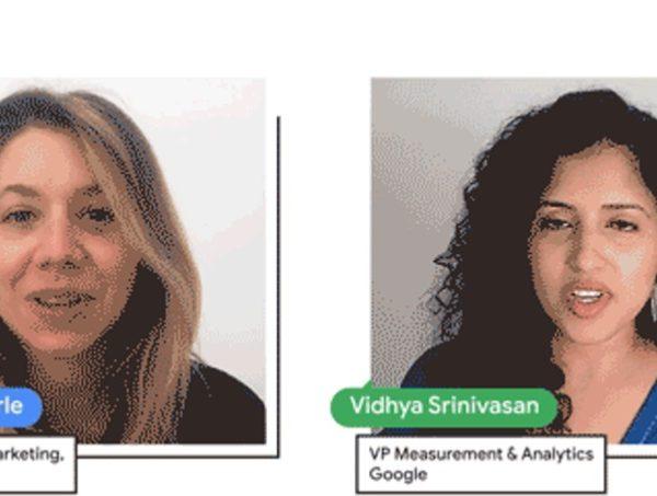 Marie Gulin-Merle, vicepresidenta , Marketing ,anuncios, Google, Vidhya Srinivasan, vicepresidenta , Métricas , Analíticas ,Google, programapublicidad