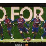 OPPO y el FC Barcelona lanzan la campaña Go for it.