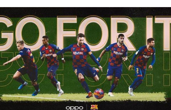OPPO , FC Barcelona lanzan , campaña Go, programapublicidadOPPO , FC Barcelona lanzan , campaña Go, programapublicidad