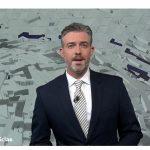 Antena3 Noticias1, lider del miércoles con 2,2 millones de espectadores y 19,6% de share.