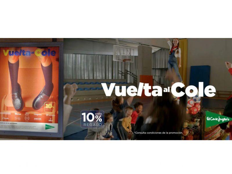 campaña, #vueltaalcole, corte ingles, programapublicidad