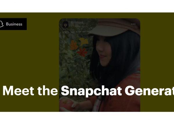 meet the snapchat, generation, programapublicidad