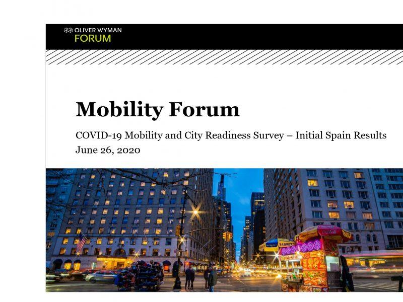 mobility, forum, oiver wyman, post ,covid, programapublicidad