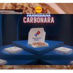 """Domino's Pizza presenta su nueva """"Parmesana Carbonara"""" y """"BBQ Texas Crispy"""" con GREY."""