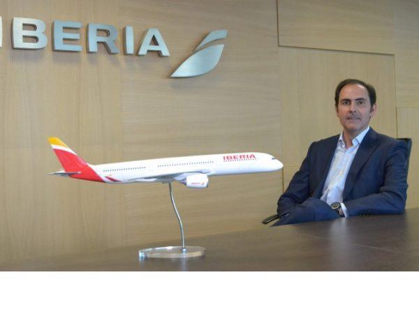 Javier Sánchez-Prieto, nuevo presidente , CEO Iberia, programapublicidad