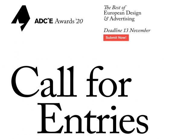 call for entries,Art Directors Club ,of Europe ,ADCE,, programapublicidad