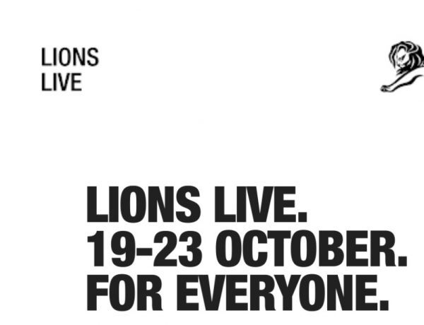cannes lions, live,october 2020, programapublicidad