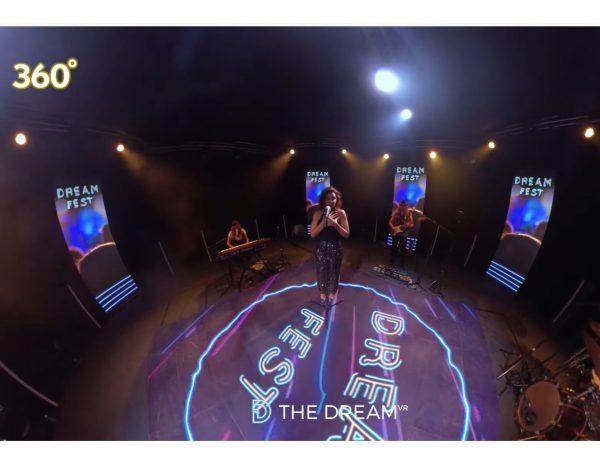 chenoa, dream fest, vr, 360, programapublicidad