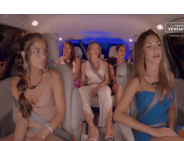 debate, chicas, bus, isla , tentaciones, tele5, pareja ,programapublicidad