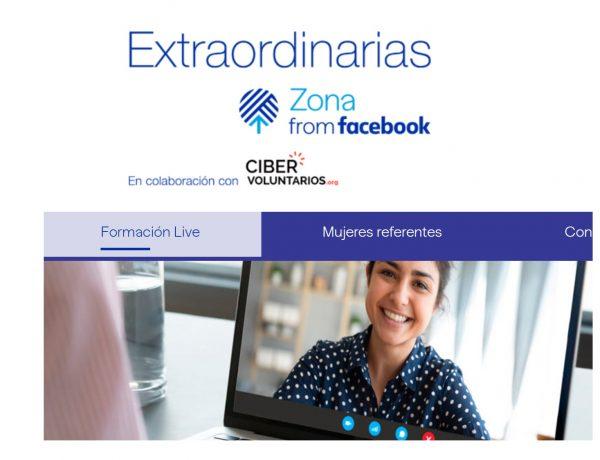extraordinarias, zona facebook, rural, mujeres, programapublicidad