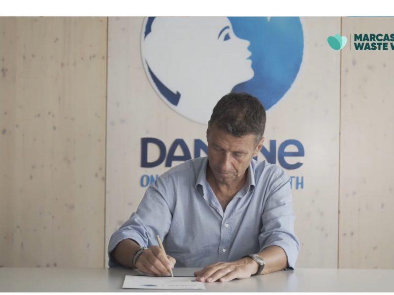 "NdP_ Danone se adhiere a la iniciativa ""Marcas Waste Warrior"""