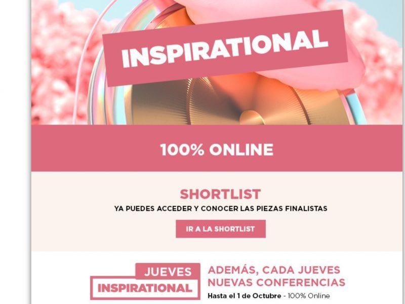 inspirational, short list, finalistas, 2020, programapublicidad