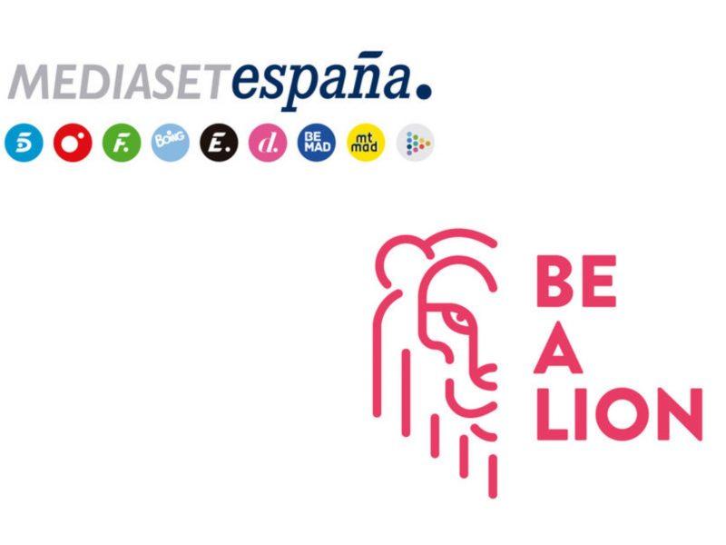 mediaset españa, be a lion, animal M, programapublicidad