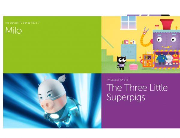 milo, superpigs, Fourth Wall ,Animation,programapublicidad