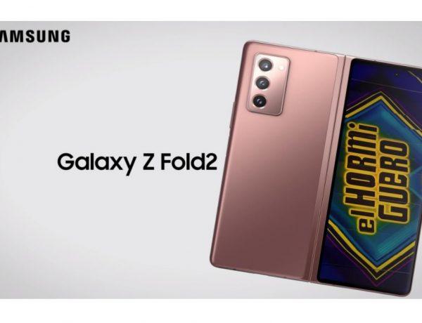 samsung, galaxy z fold2, hormiguero, programapublicidad